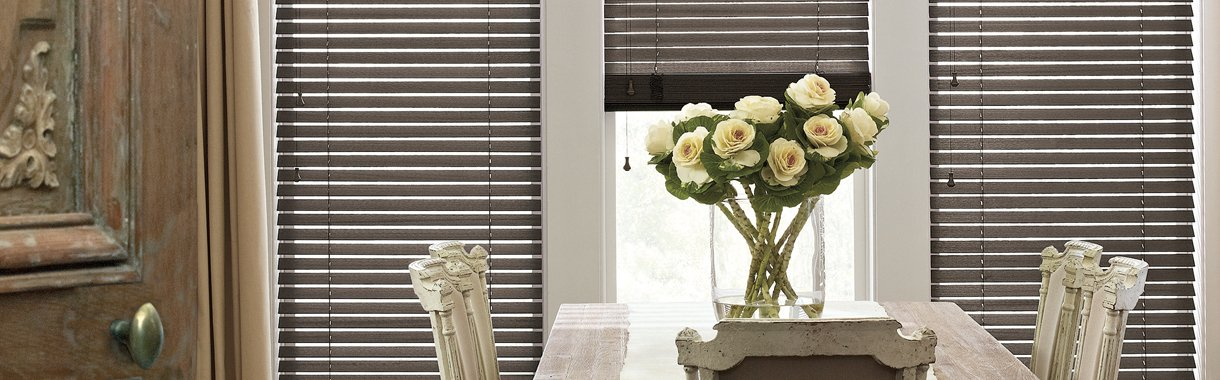 Timan Custom Window Treatments Cleveland | Parkland Wood Blinds
