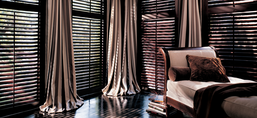 Hunter Douglas Shutters Cleveland by Timan Custom Window Treatments
