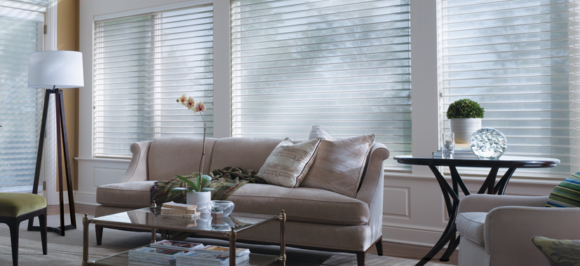 Hunter Douglas Custom Window Shades by Timan Custom Window Treatments | Nantucket