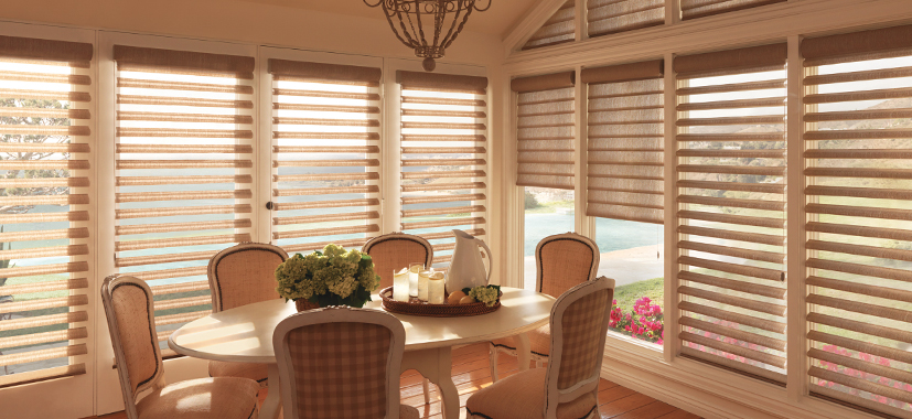 Timan Custom Window Treatments pirouette shades