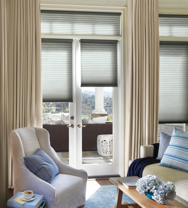 Window Treatments for Sliding Glass Doors cleveland
