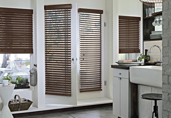 Hunter Douglas blinds for doors