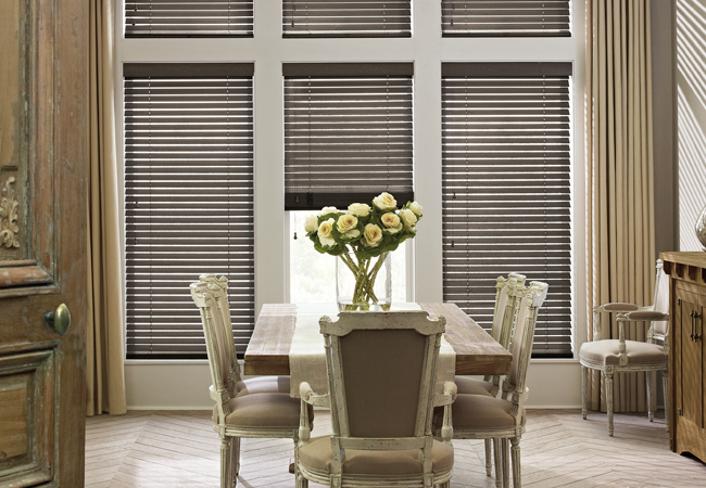 Hunter Douglas Cleveland wood blinds